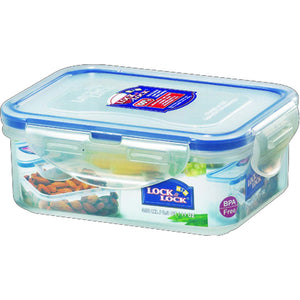 Lock & Lock HPL806 Rectangular Storage Box 350ml