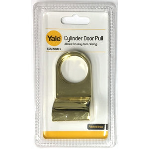 Yale YES-CYLPULL-PB Cylinder Door Pull - Polished Brass