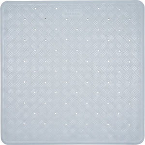 Aqualona 41369 Roman Rubber Shower Mat White