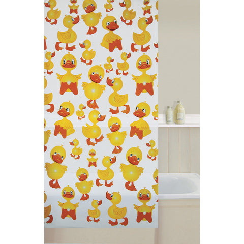 Aqualona 41192 Cheeky Duck Shower Curtain 180x180cm