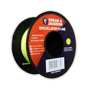 Eclipse SJUK-50M-8OY Brick Layers Line 50mtr - Single Reel