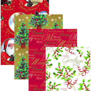 Christmas Wrapping Paper 5mtr x 69cm