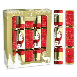 Giftmaker Collection XAHGS501 Traditional Christmas Crackers Pkt10