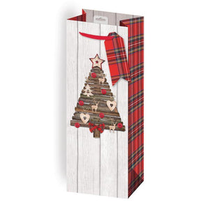 Giftmaker Collection Heritage Christmas Bottle Gift Bag