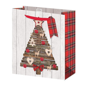 Giftmaker Collection Heritage Christmas Gift Bag - Medium