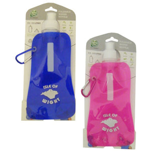 Isle Of Wight 8052 Foldable Water Bottle 0.5Ltr - Various Colours