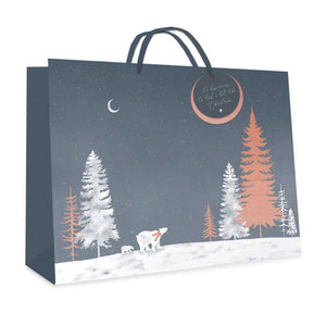 Tallon 2740 Grey Polar Bear Gift Bag - Large