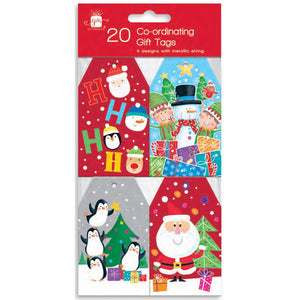 Giftmaker Collection XAJGT1031 Christmas Kids Gift Tags Pkt20