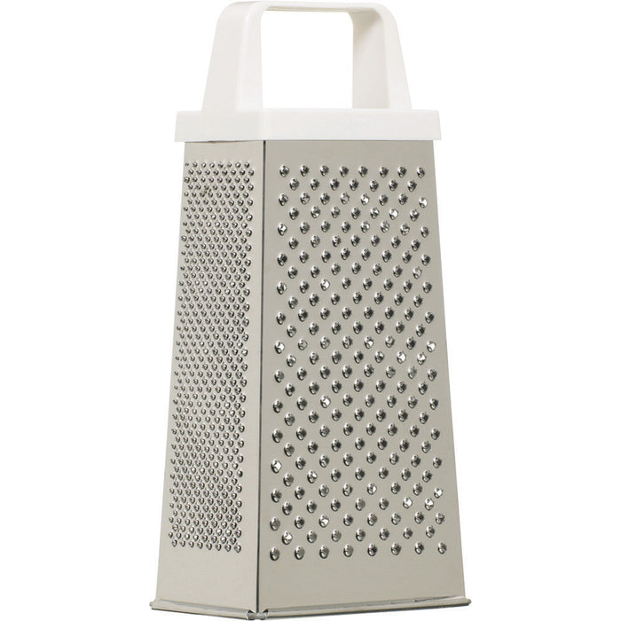 Kitchencraft KC926W Stainless Steel 20cm Four Sided Box Grater