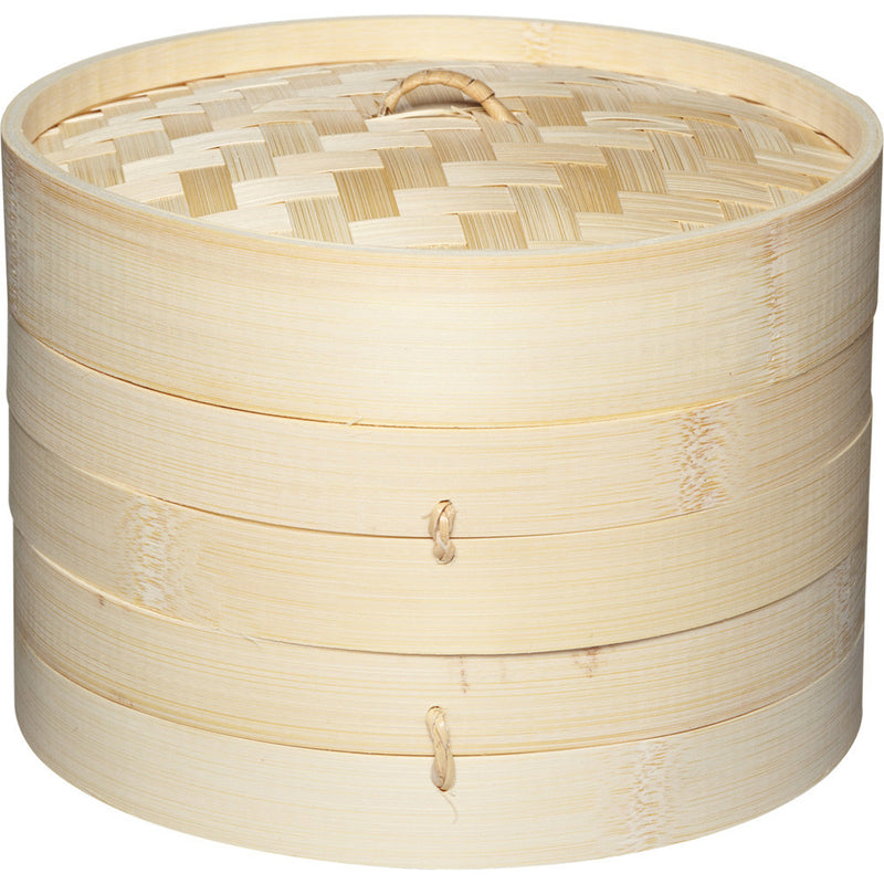Kitchencraft kcbamboo Bamboo steamer with lid KCBAMBOO
