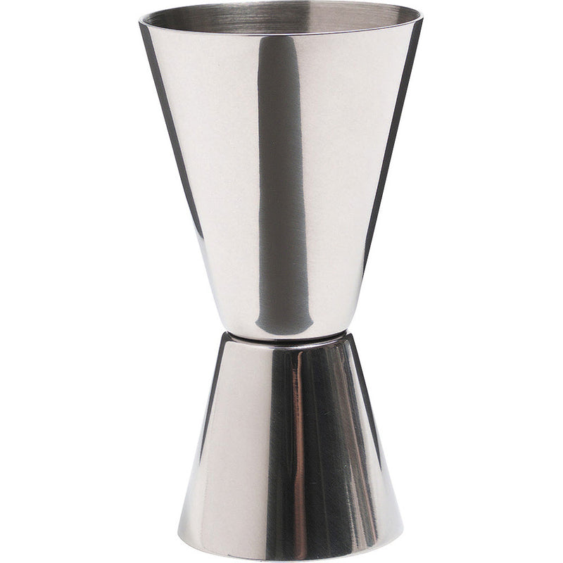 Kitchencraft kcbcjig Barcraft Dual measure spirit cup