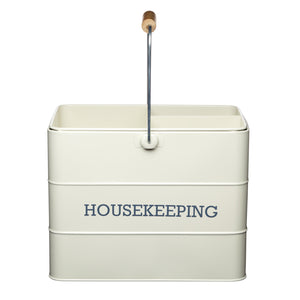 Living Nostalgia LNHKEEPCRE Housekeeping Box -