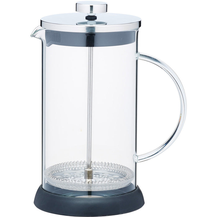 Le'Xpress KCLXGCAFE8CP Eight Cup Glass Cafetiere