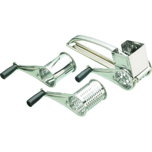Kitchencraft kcdrum3 3 Drum rotary grater stainless steel
