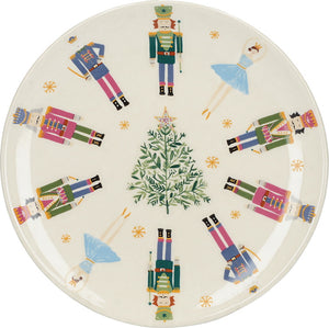 Kitchencraft C000757 Nutcracker Collection Canape Plate - Nutcrackers