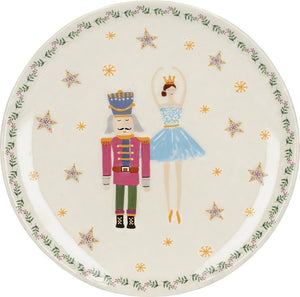 Kitchencraft C000756 Nutcracker Collection Canape Plate - Ballerina