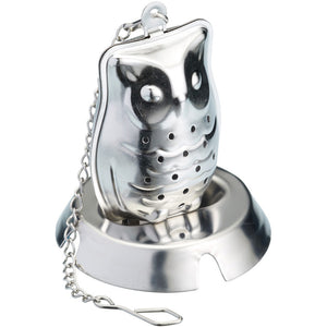 Le'Xpress KCLXOWL Stainless Steel Novelty Owl Tea Infuser
