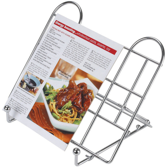 Kitchencraft kcrecipe Adjustable folding recipe book stand.