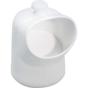 Kitchencraft kcspigcer Salt pig white