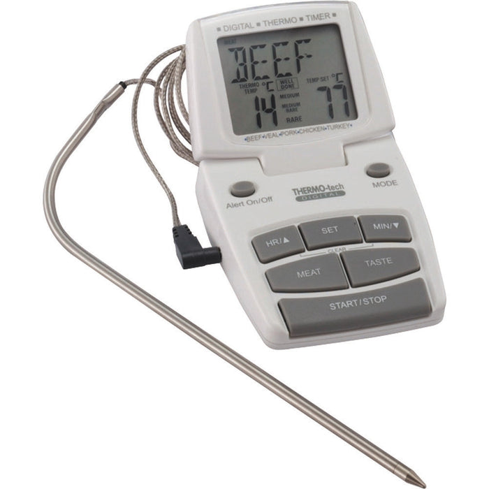 Kitchencraft MCDIGTHERM Digital Cooking Thermometer and Timer