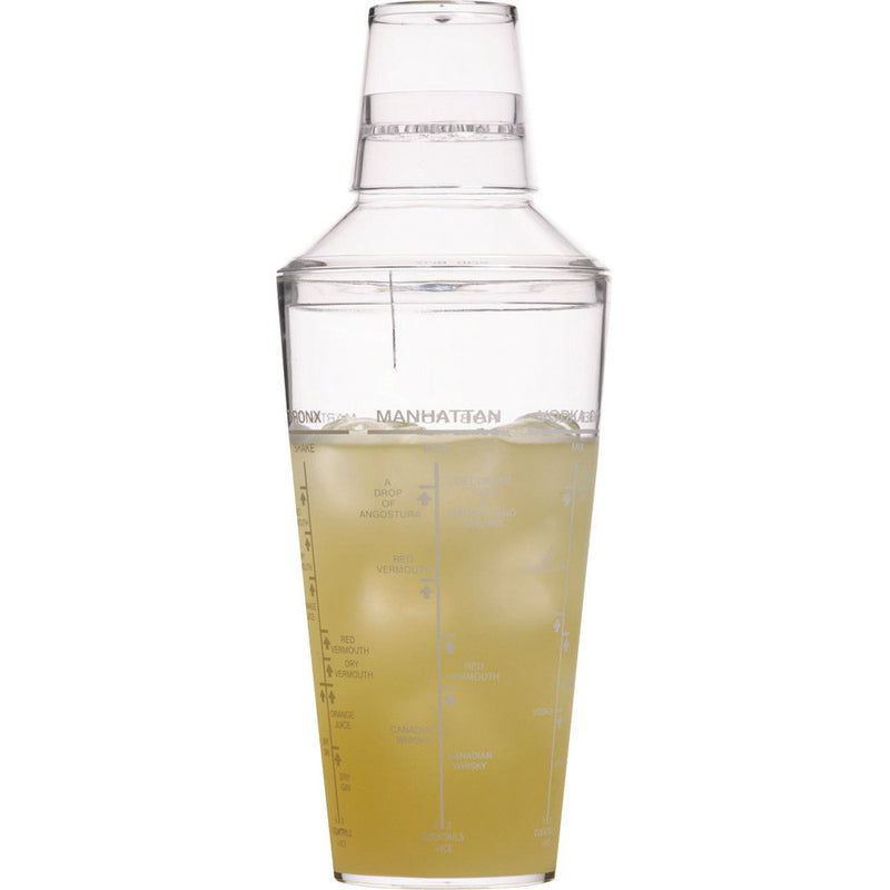 Kitchencraft KCBCSHAKACR Bar Craft Acrylic 700ml Cocktail Shaker