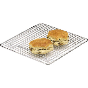 Kitchen Craft Chrome Plated Square Cake Cooling Tray KCCAKESQ