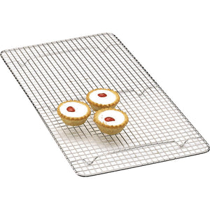 Kitchen Craft Chrome Plated Oblong Cake Cooling Tray KCCAKEOB