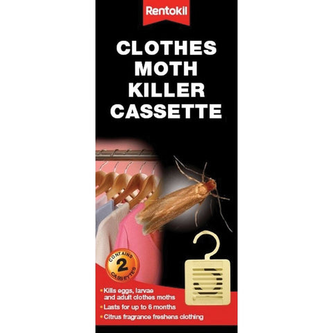 Rentokil FM95 Clothes Moth Killer Cassette