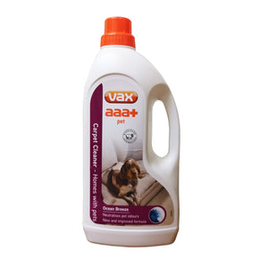 Vax 19137772 AAA+ Carpet Cleaner Pet Solution 1.5Ltr