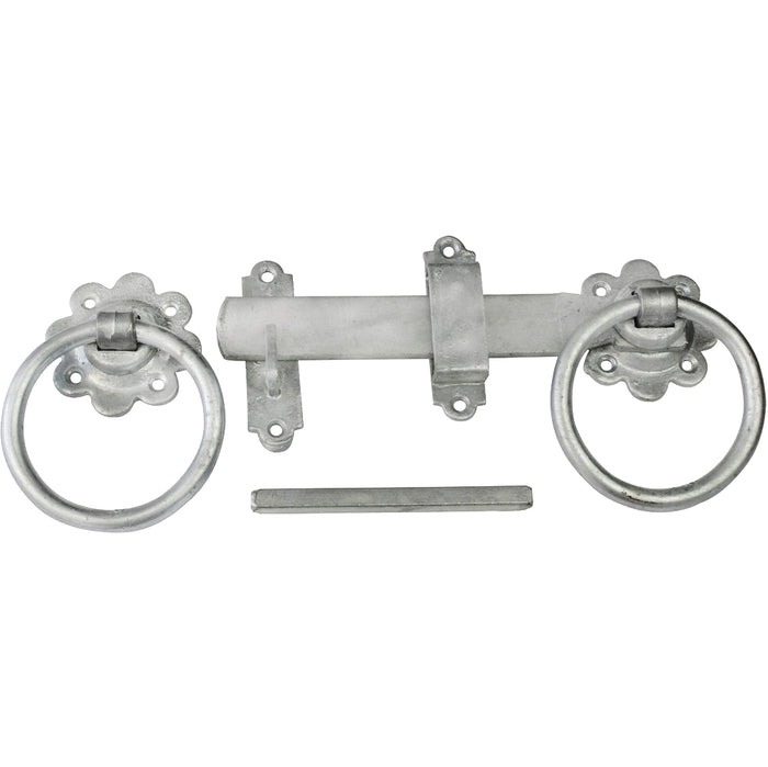 EasyFix 4157762 Plain Ring Gate Latch Galvanised 6""