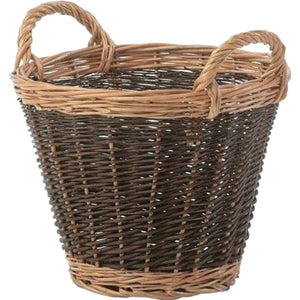 Toby Unpeeled Willow Log Basket