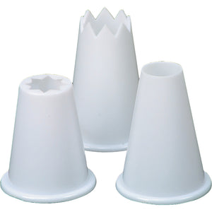 Dexam 17841249 Food Piping Nozzles Set of 3