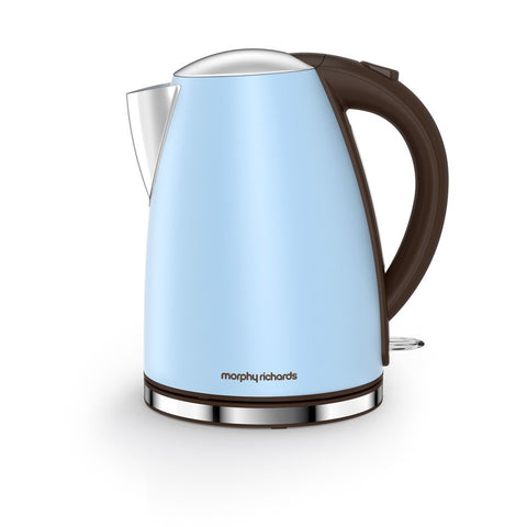 Morphy Richards 103002 Accents Jug Kettle 1.7Ltr - Azure