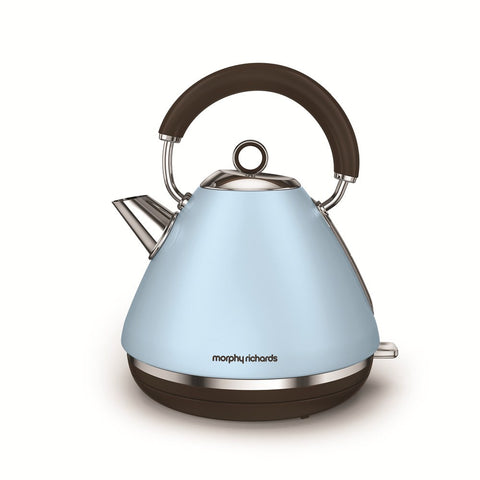 Morphy Richards 102100 Accents Traditional Kettle 1.5Ltr - Azure