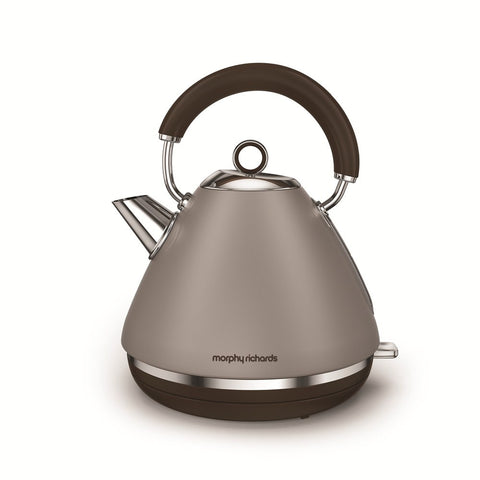 Morphy Richards 102102 Accents Traditional Kettle 1.5Ltr - Pebble
