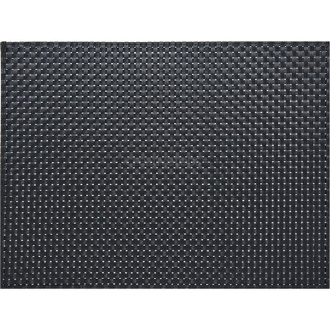 Creative Tops 5136870 Everyday Home Woven Vinyl Placemat - Black
