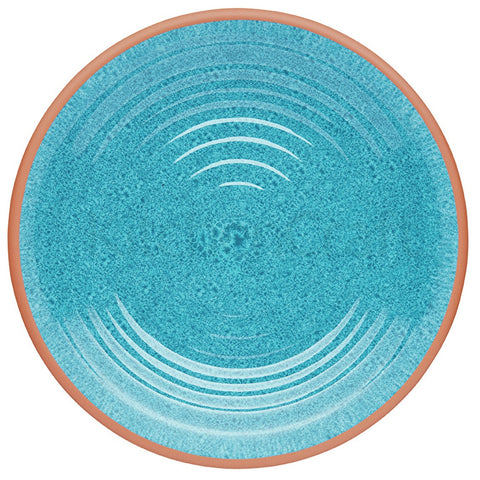 Kitchencraft KCSMDPLATETER Terracotta-Style Melamine Dinner Plate