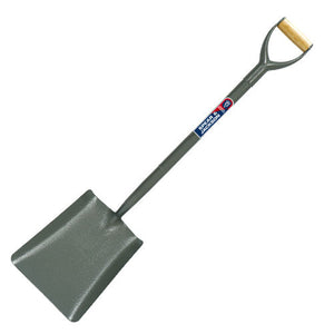 Spear & Jackson 2002AR All Steel Square Mouth Shovel