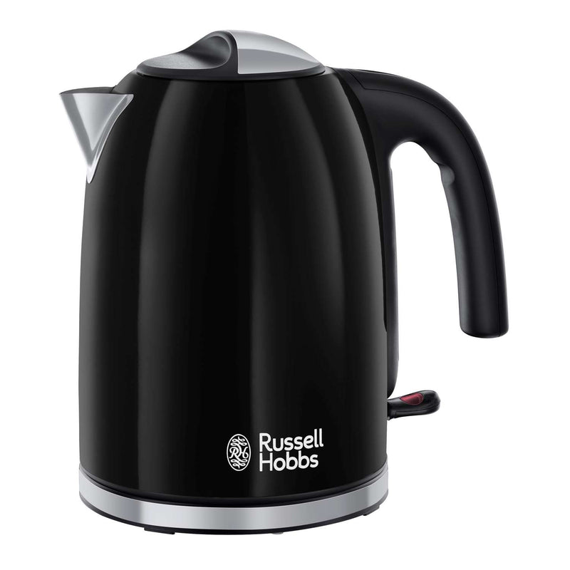Russell Hobbs 20413 Colours Plus+ Jug Kettle 1.7Ltr 3kW Jet Black