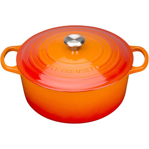 Le Creuset Round Casserole - Various Sizes & Colours