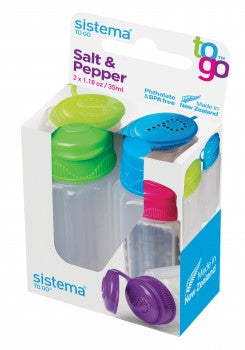 Dexam Sistema 18021473 Salt & Pepper To Go - Assorted Colours