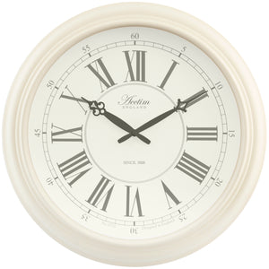 Acctim 22082 Reigham Wall Clock 45.5cm - Cream