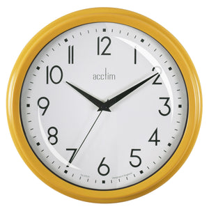 Acctim 22471 Elodie Wall Clock 25.9cm - Honey