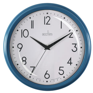 Acctim 22479 Elodie Wall Clock 25.9cm - Oxford Blue