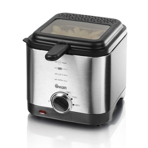 Swan SD6060N Stainless Steel Fryer 1.5Ltr