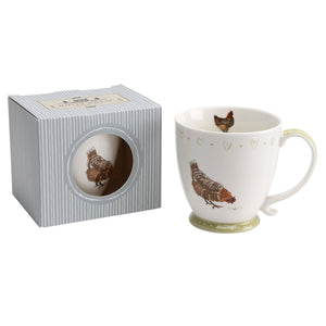 CGB GB00166 Holly House Chicken Mug