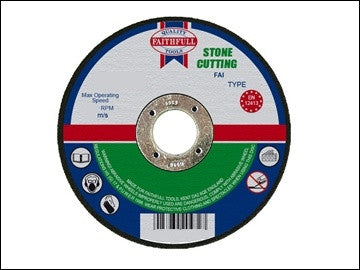 Faithfull Cut Off Discs - Stone