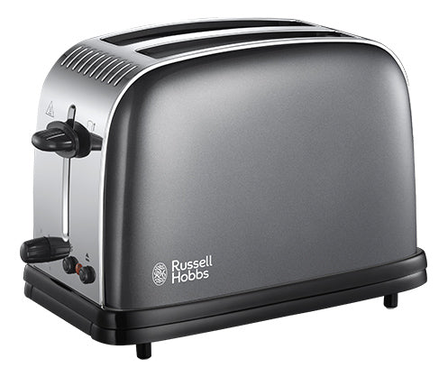 Russell Hobbs 23332 Colours Plus+ 2 Slice Toaster Grey