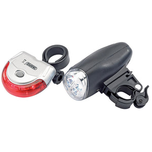 Draper 24813 Front & Rear LED Bicycle Lights