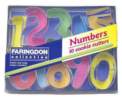 Dexam 17848891 Numbers cookie cutters